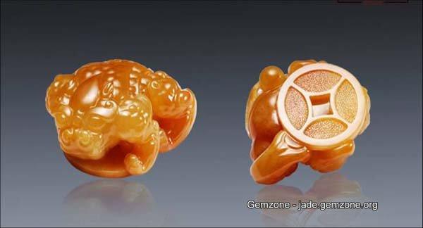 玉雕金蟾图案设计